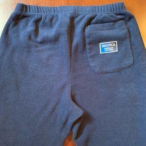Vintage Nautica Fleece Pants Sz XL